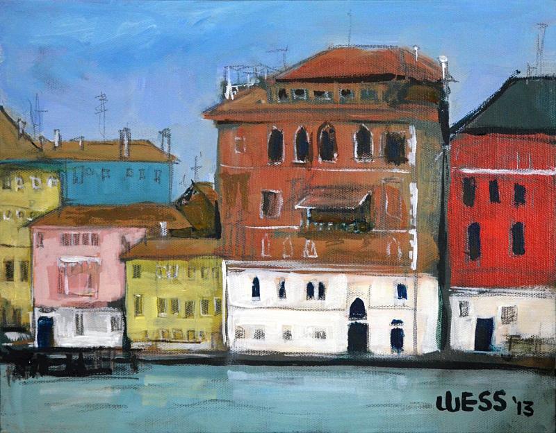 """Venice #4  11x14"""", $100"""