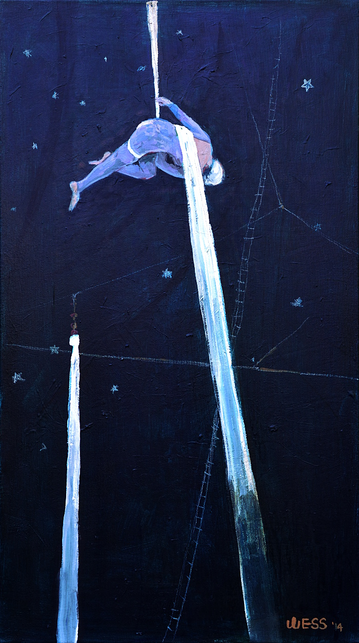 The Aerialist, 36x20""