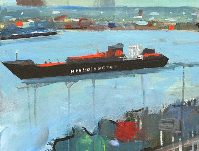 Container Ship... (detail)