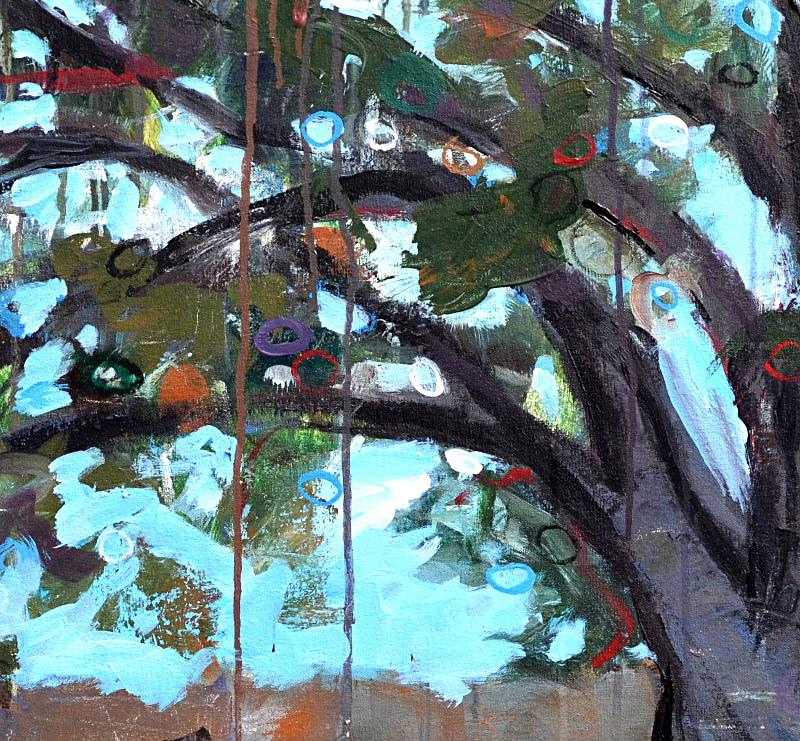 Louisiana Live Oak,  detail