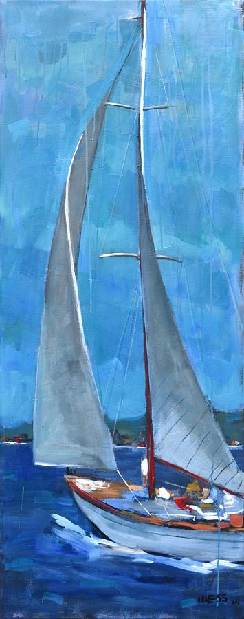 """Tall Sails, 61x24"""", $1100"""