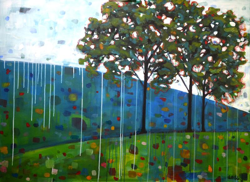 "Ethereal Landscape, 36x48"", $1450"