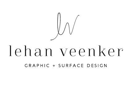 Lehan Veenker // Graphic Design // Surface Pattern Design