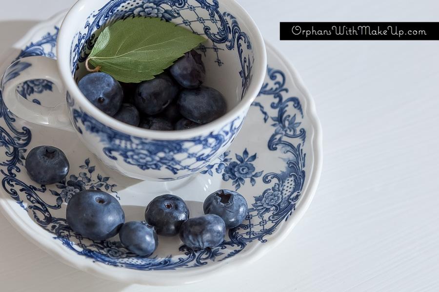 #blue&whitechina #blueberries