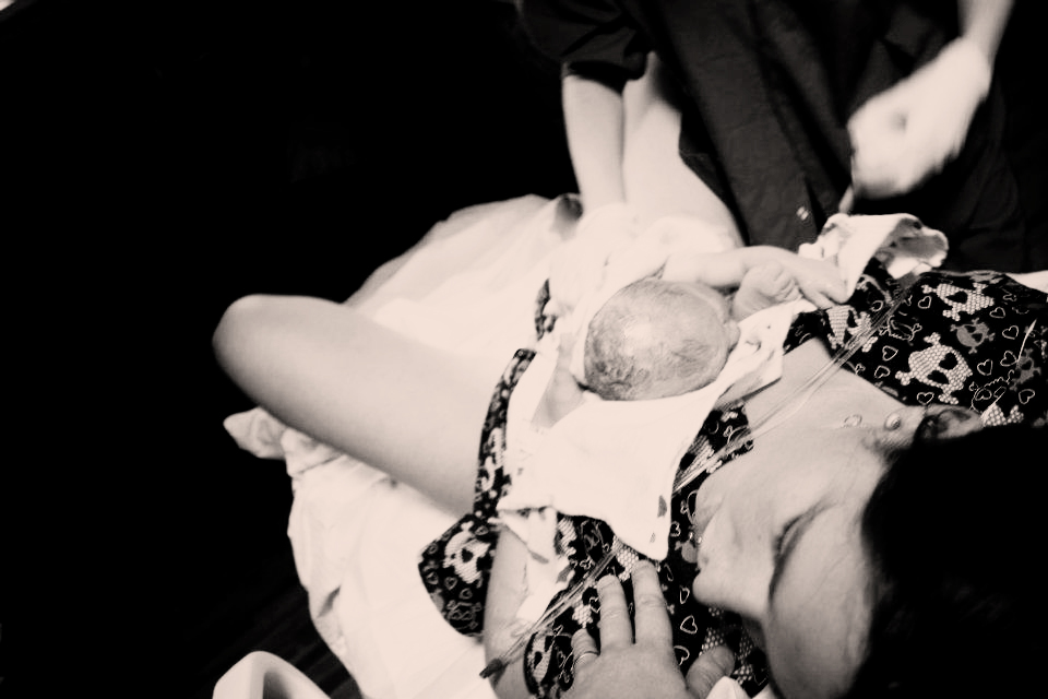 Rozzlyn's Birth - 10/30/2011
