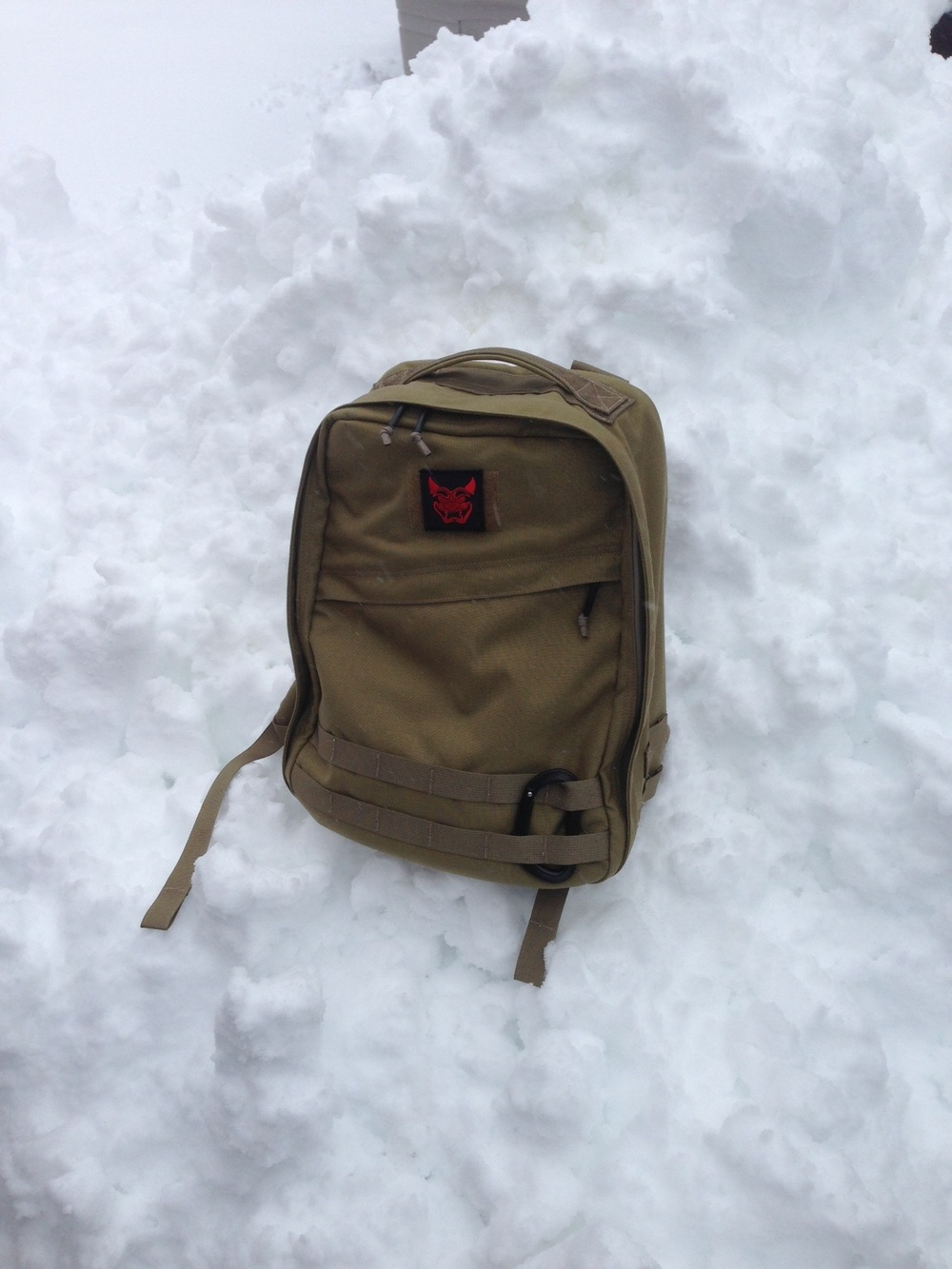 The GORUCK Radio Ruck after the recon