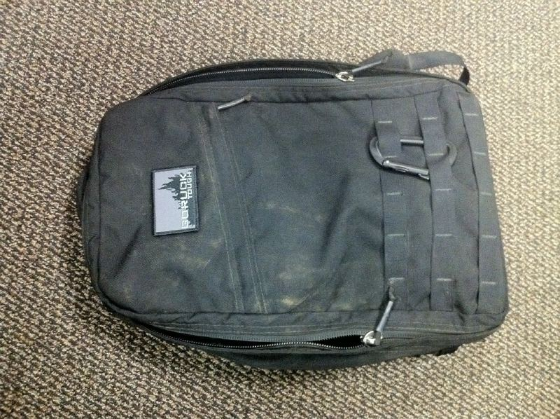 GORUCK GR1 with the GORUCK Tough patch