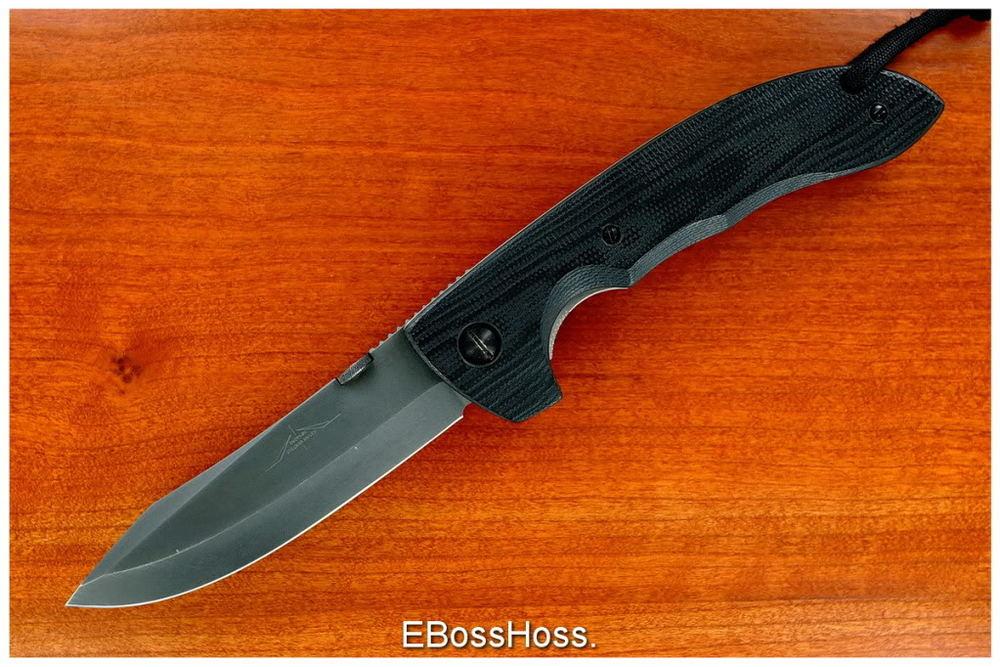One of the original Emerson CQC-8 Specwar Knives. Circa 1994.