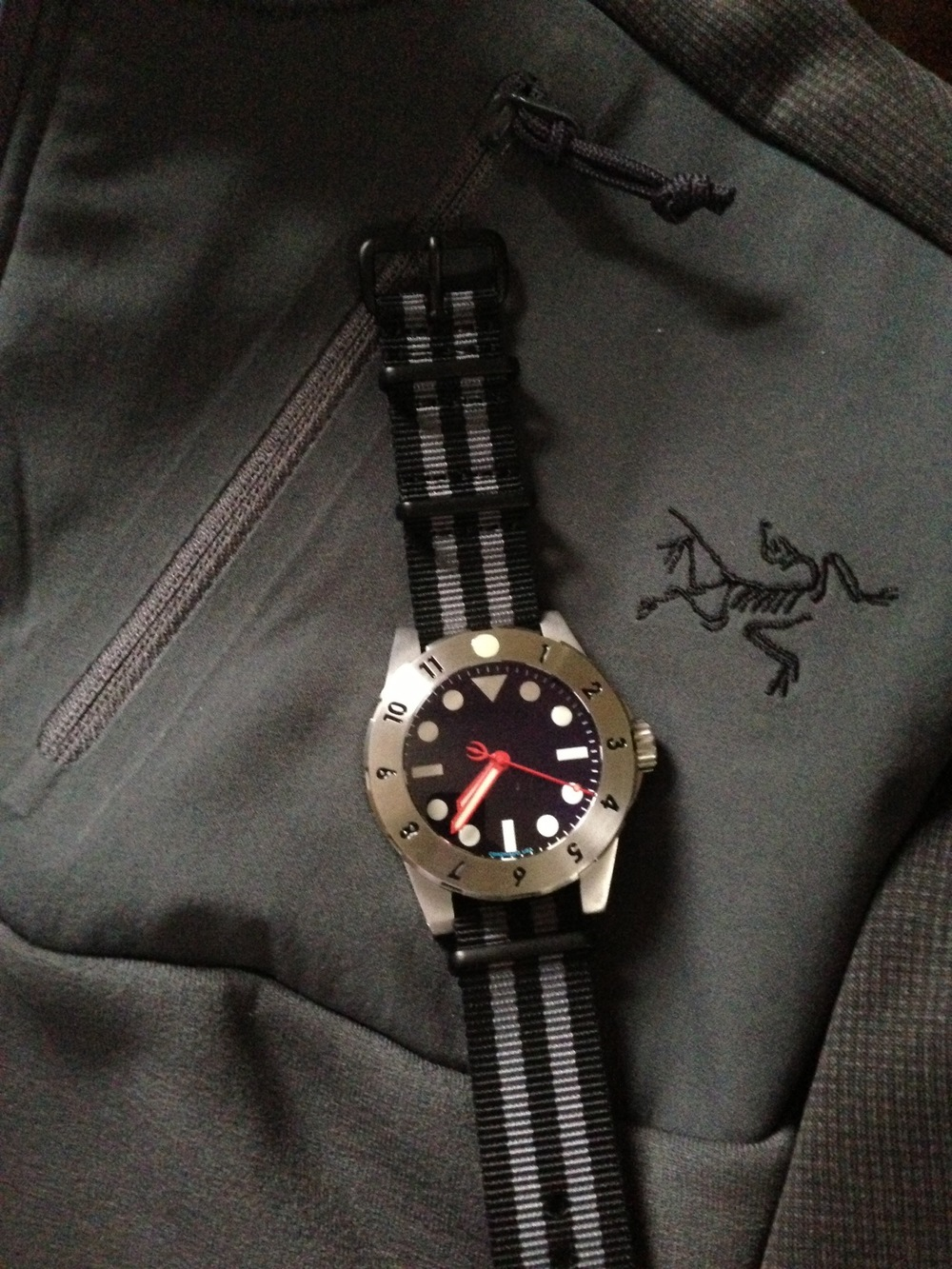 RESCO Patriot Gen 1 custom and Arc'teryx LEAF Naga top