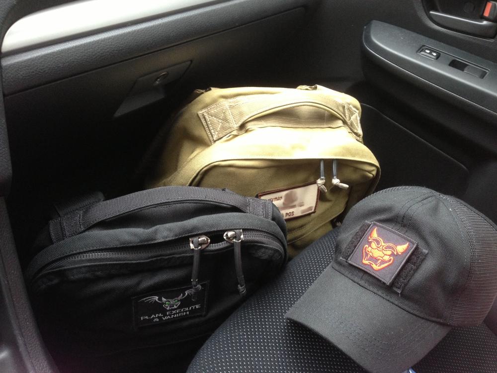 GORUCK gear ready...
