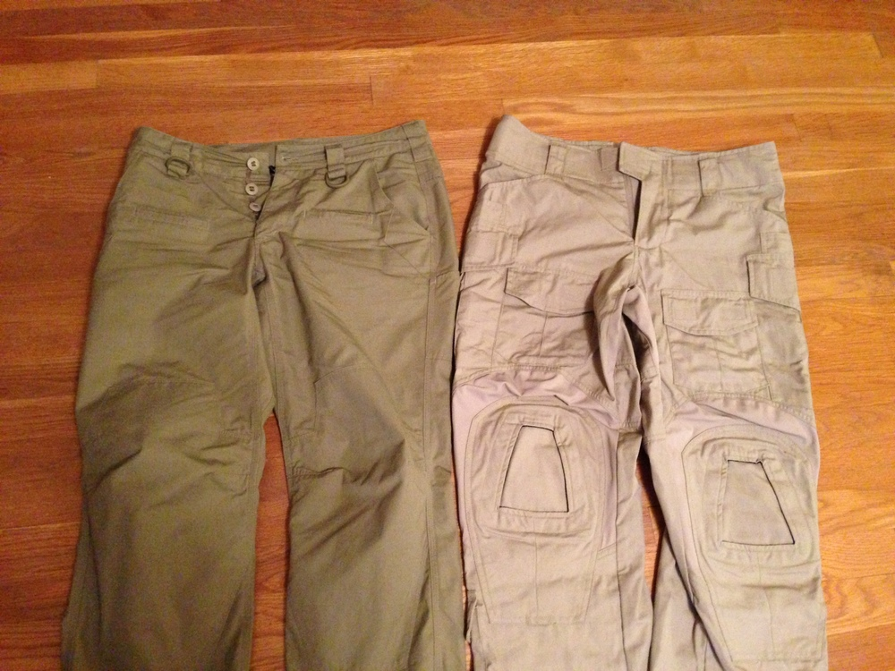 TAD Covert RS and Crye Precision G3 Combat Pants