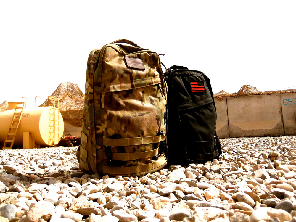 A GORUCK GR1 and Radio Ruck in AFG