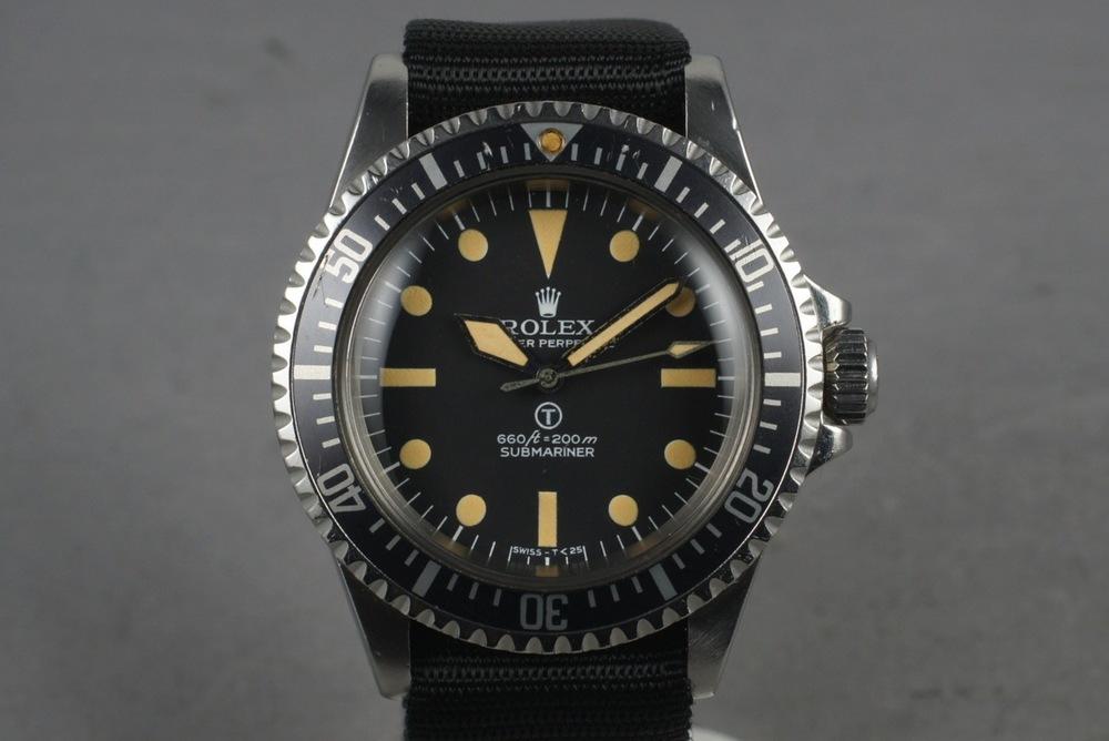 Rolex MilSub Ref 5517