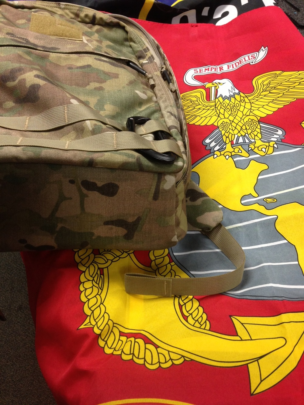 My GORUCK GR Echo and the USMC Flag