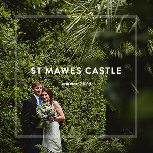 ST MAWES CASTLE    wedding photography st mawes, cornwall