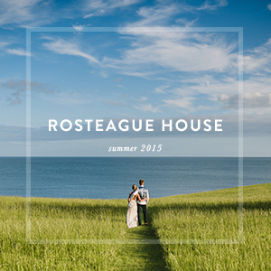 ROSTEAGUE HOUSE    wedding photography the roseland, cornwall
