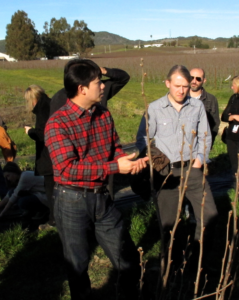 American Truffle Company's dynamic duo, Robert Chang, Managing Director and Dr. Paul Thomas, Partner and Chief Scientist