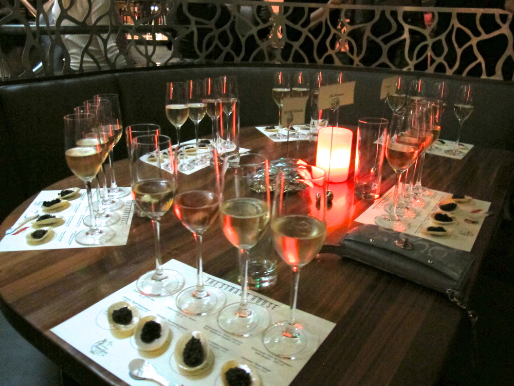 The Strand House's Culinary Masters Series with Petrossian caviar and Perrier Jouet champagne