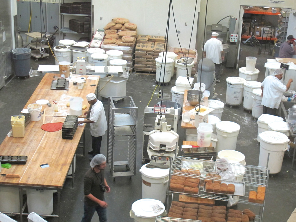 Homeboy Industries' on site bakery