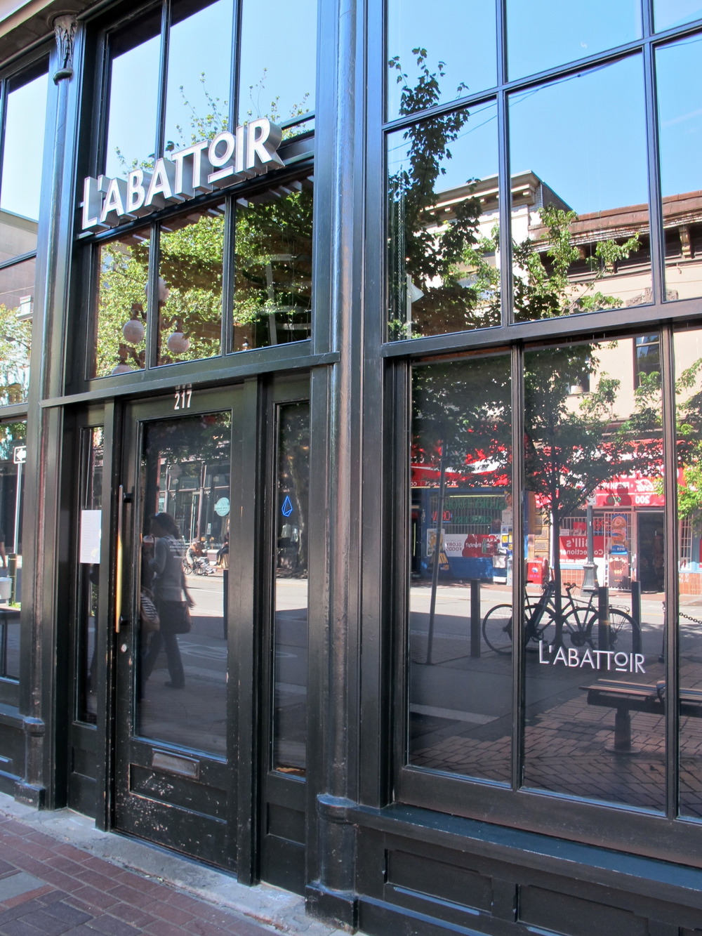 Gastown's L'Abbatoir