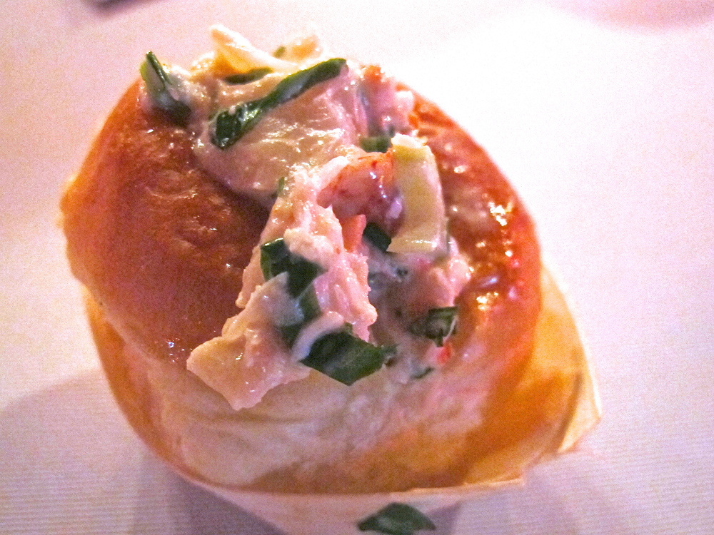 "Ayara Thai's lobster ""bite"""