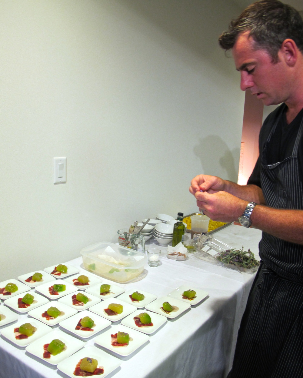 Chef Kevin Meehan of Kali Dining