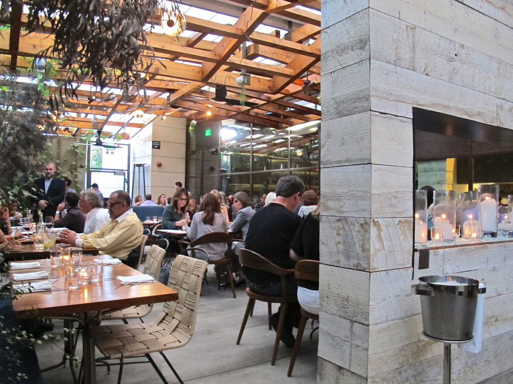 Hinoki & the Bird patio