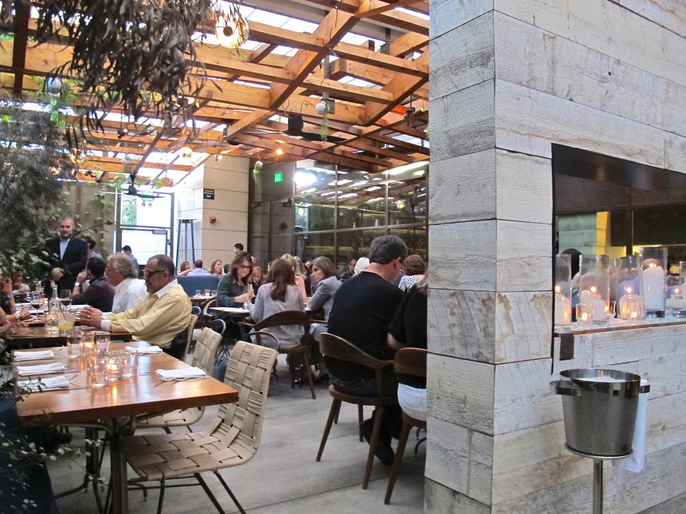 Hinoki & the Bird patio