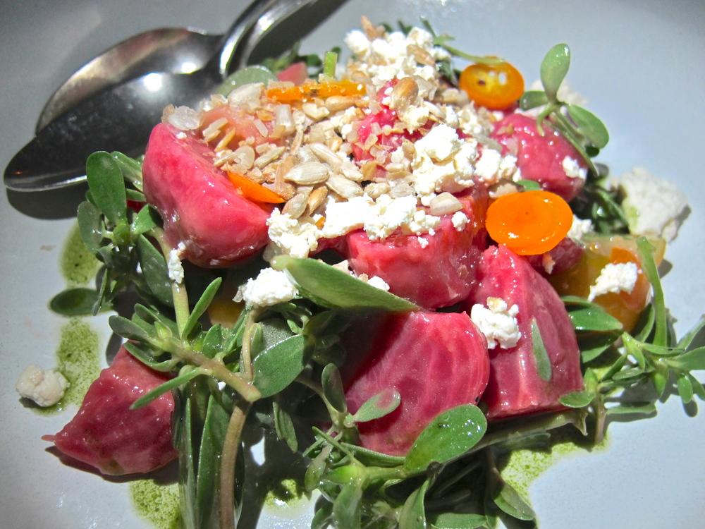 Hinoki & the Bird's beet salad