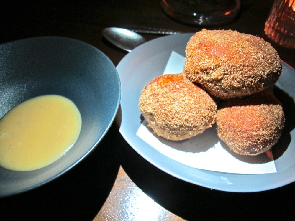 Hinoki & the Bird's miso donuts