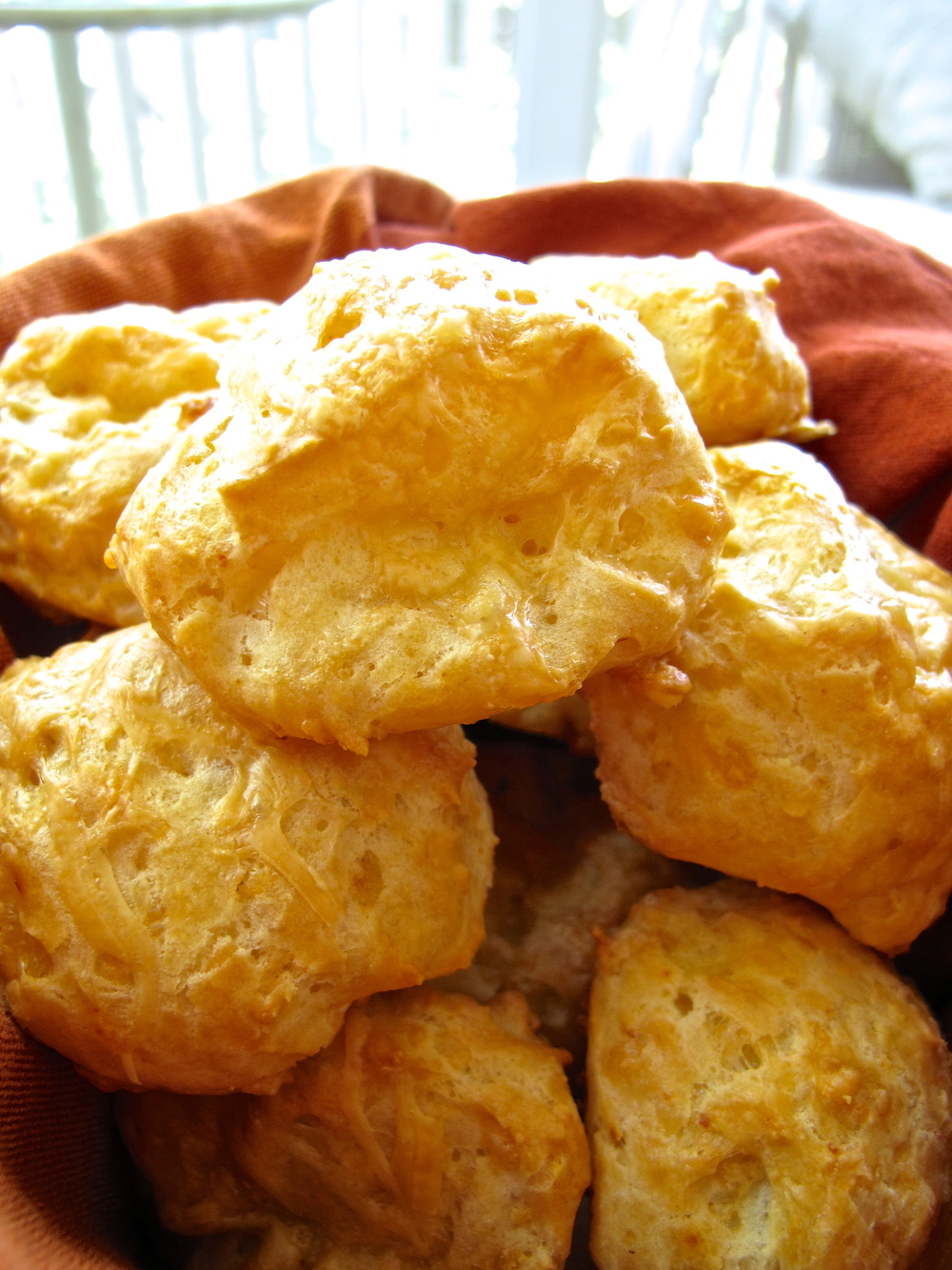Gougeres - Tasting Page