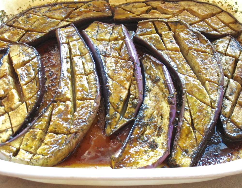marinated and microwaved miso eggplant.JPG