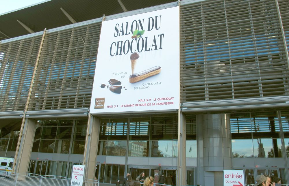 Salon du Chocolat at Porte de Versailles