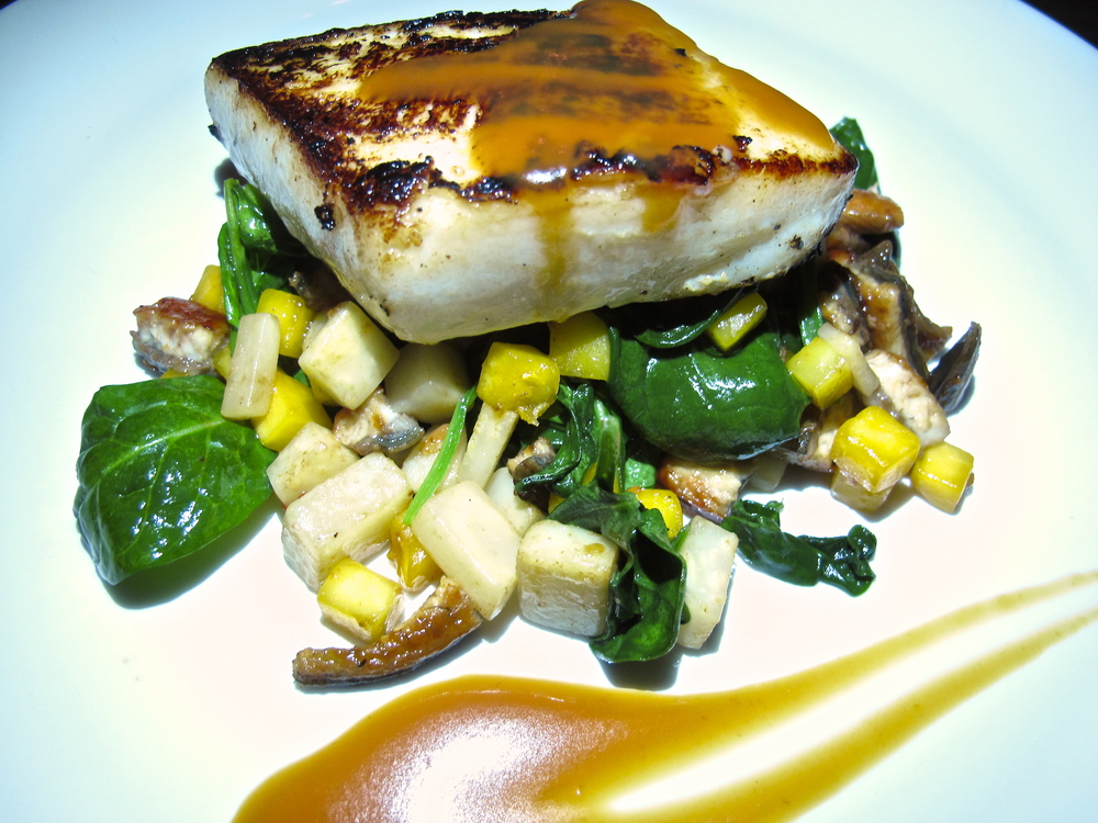 41 Ocean's champagne miso cod