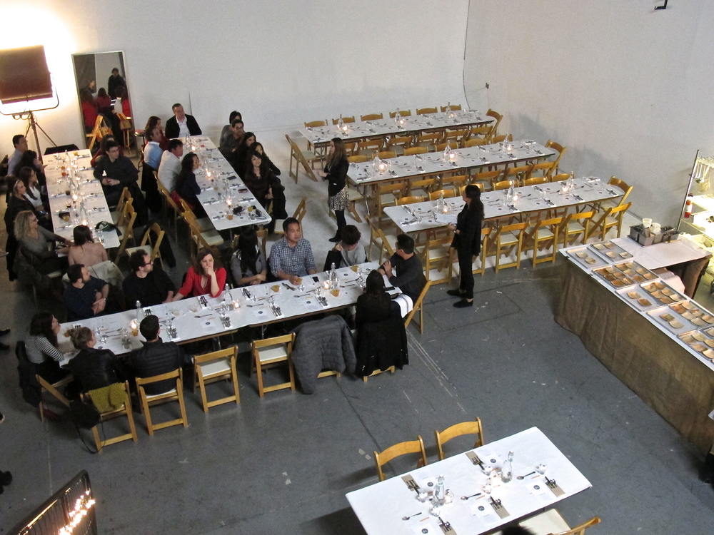 Dinner Lab's On the Lam was held at The Dream Factory LA Studio