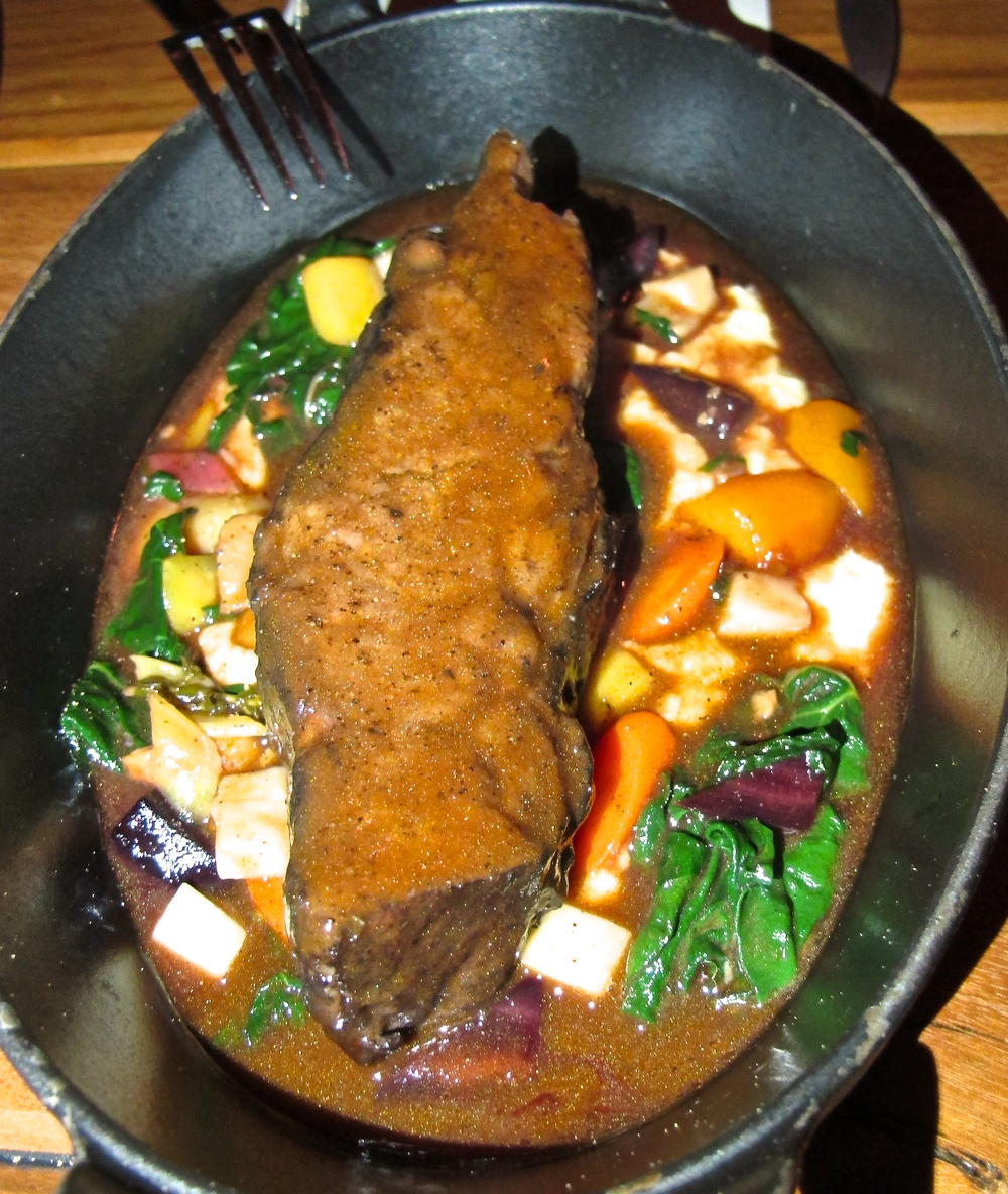 Republique's braised short rib