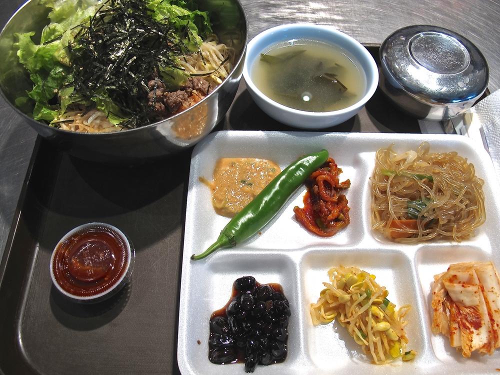 Koreatown's bibimbap