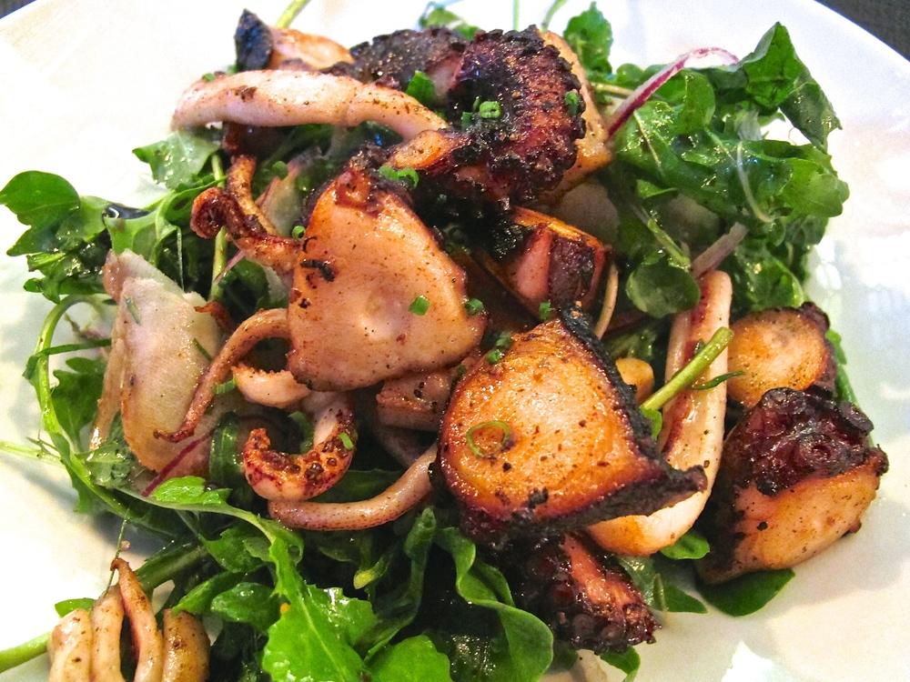 Bestia's octopus salad