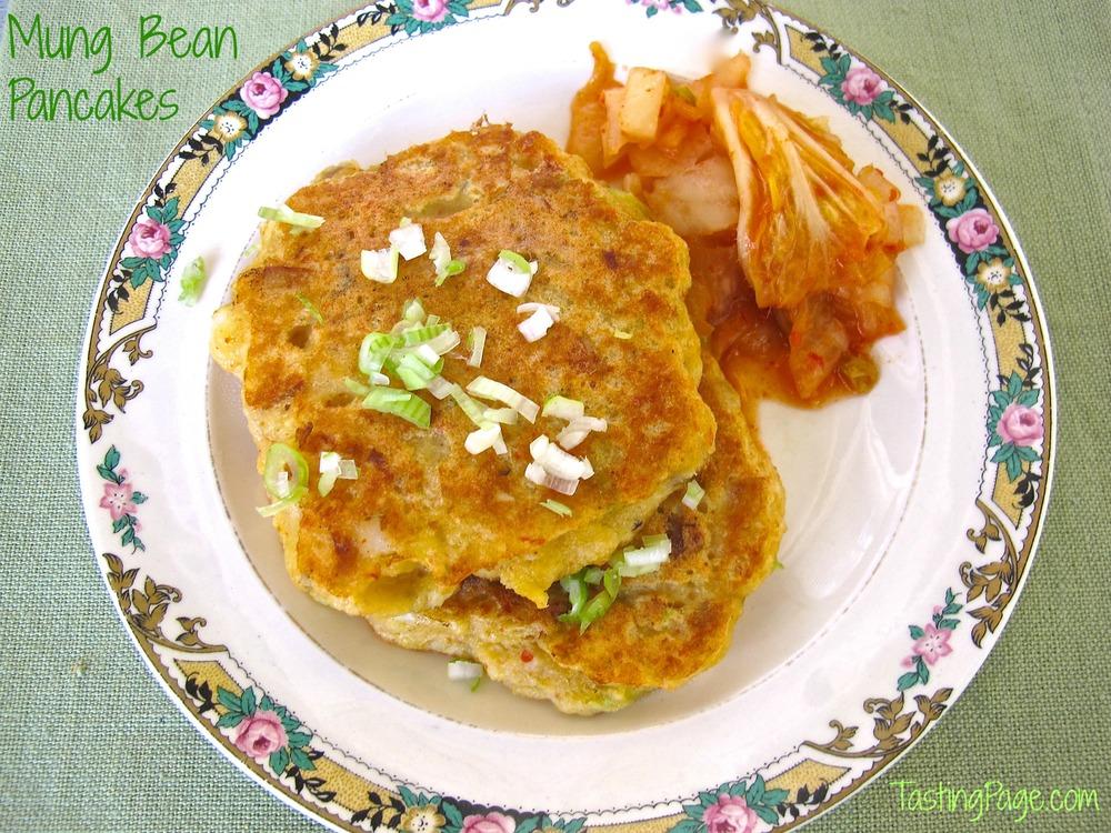mung bean pancakes