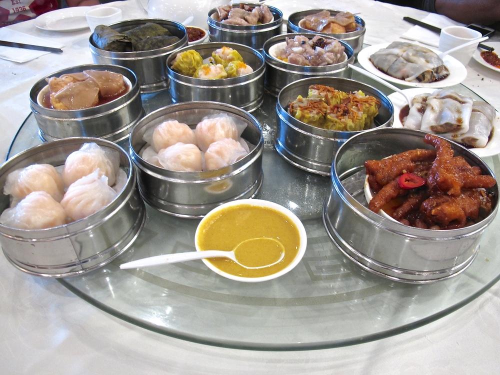 Capital Seafood dim sum