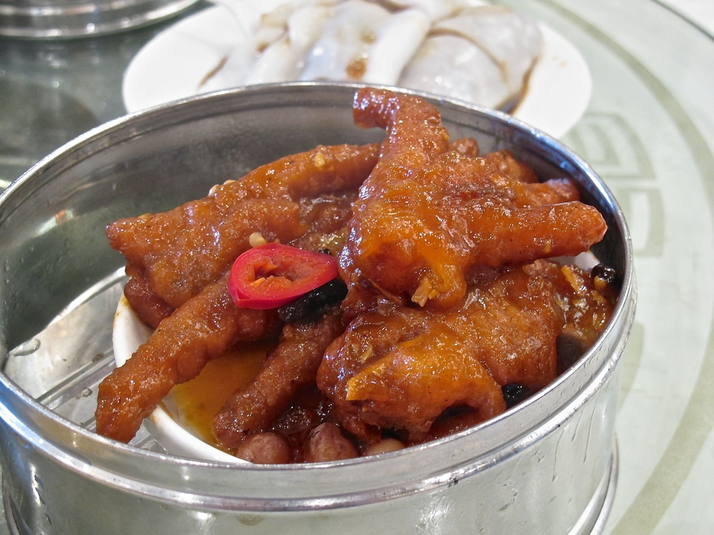 Capital Seafood chicken feet
