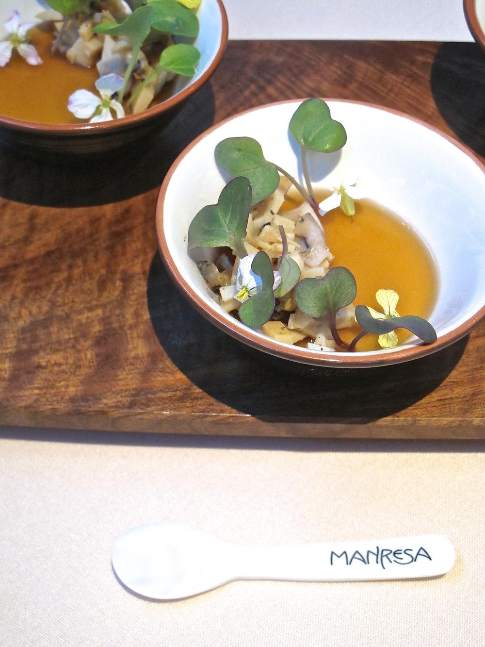 Manresa's abalone