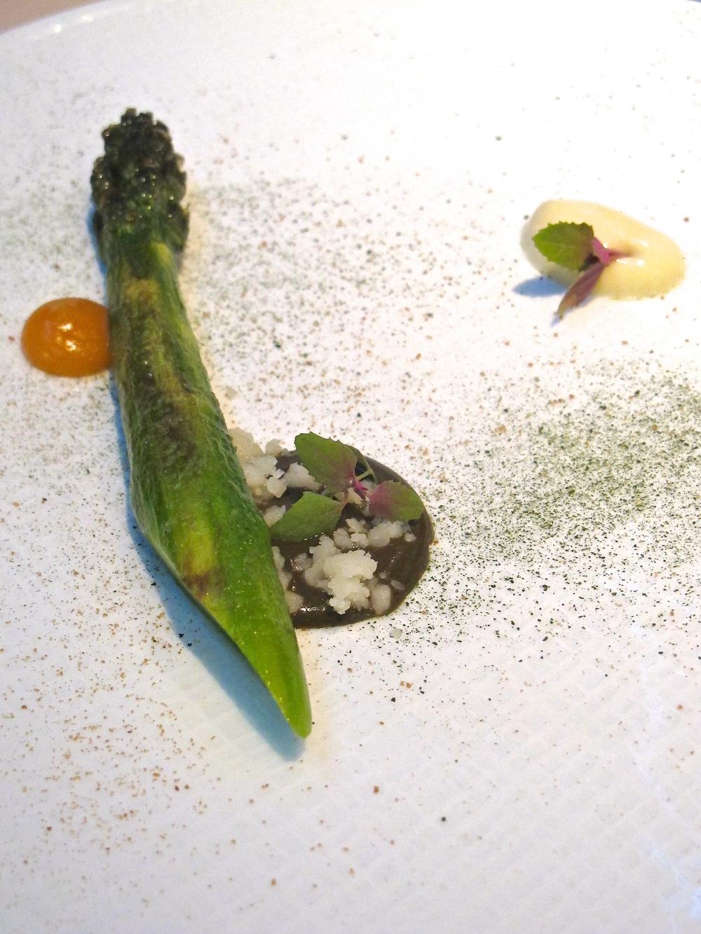 Manresa's asparagus