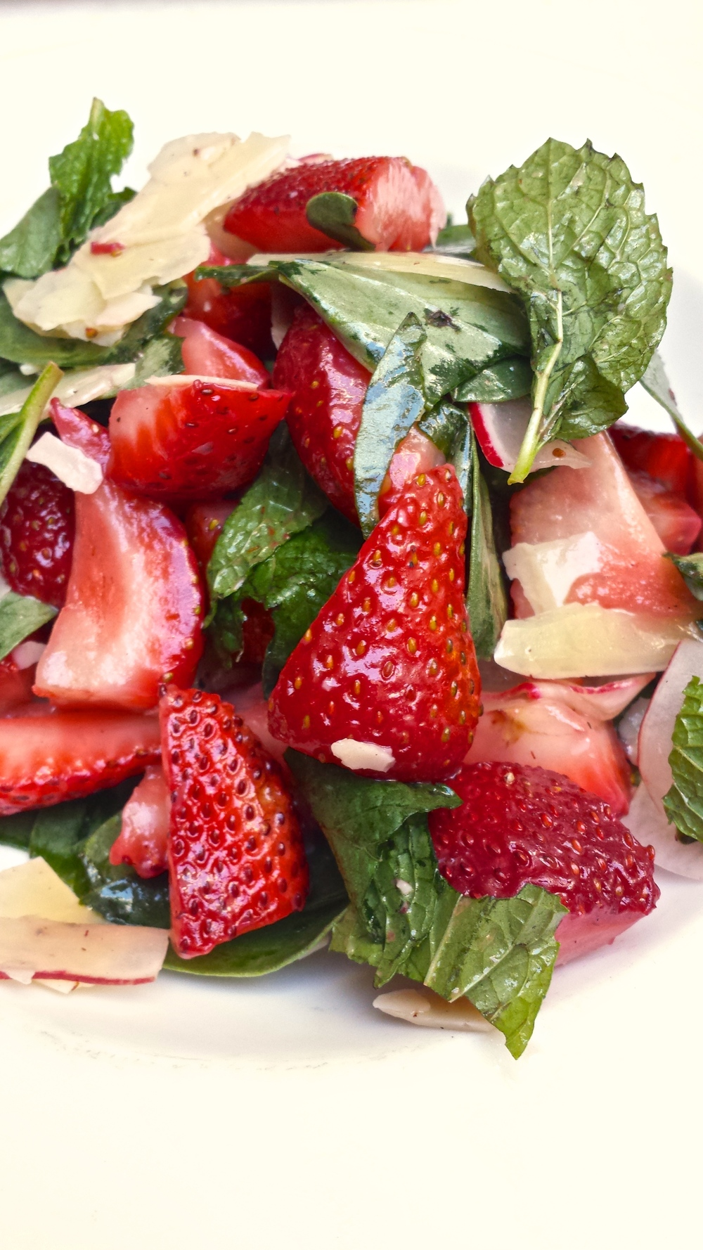 Wood and Vine strawberry salad