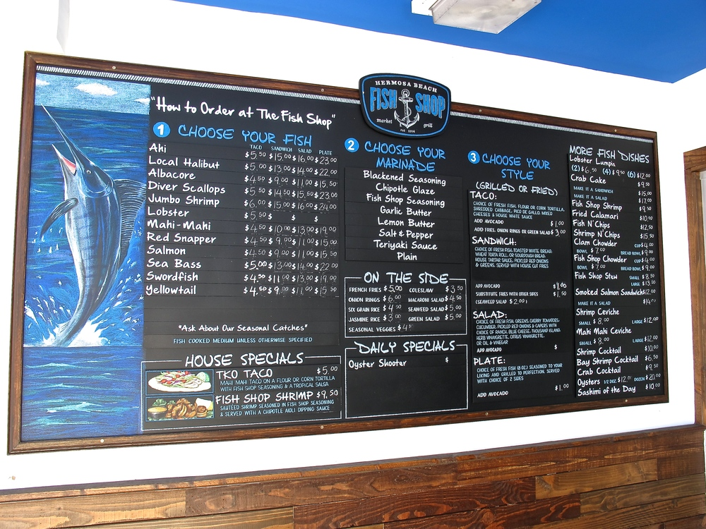 Hermosa Beach Fish Shop