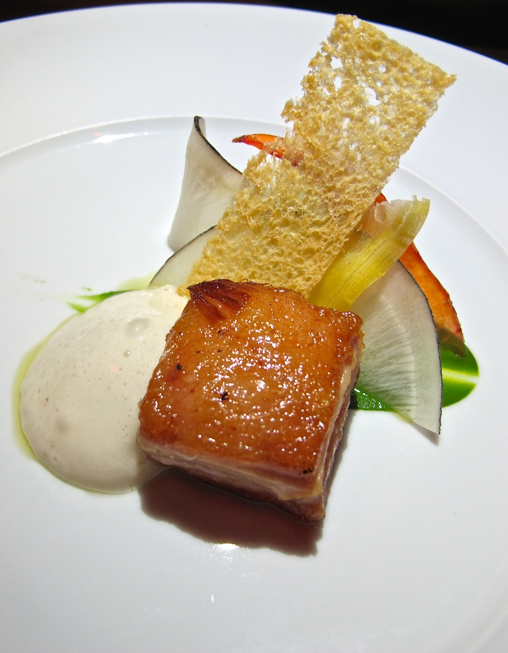 Maude pork belly