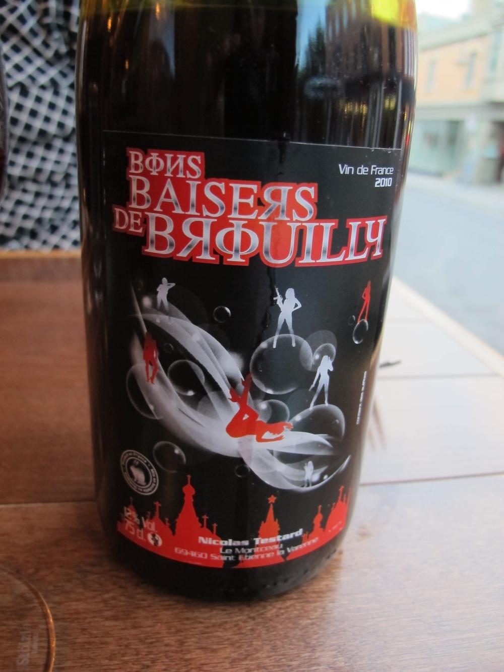 Nicolas Testard's Bons Baisers de Brouilly