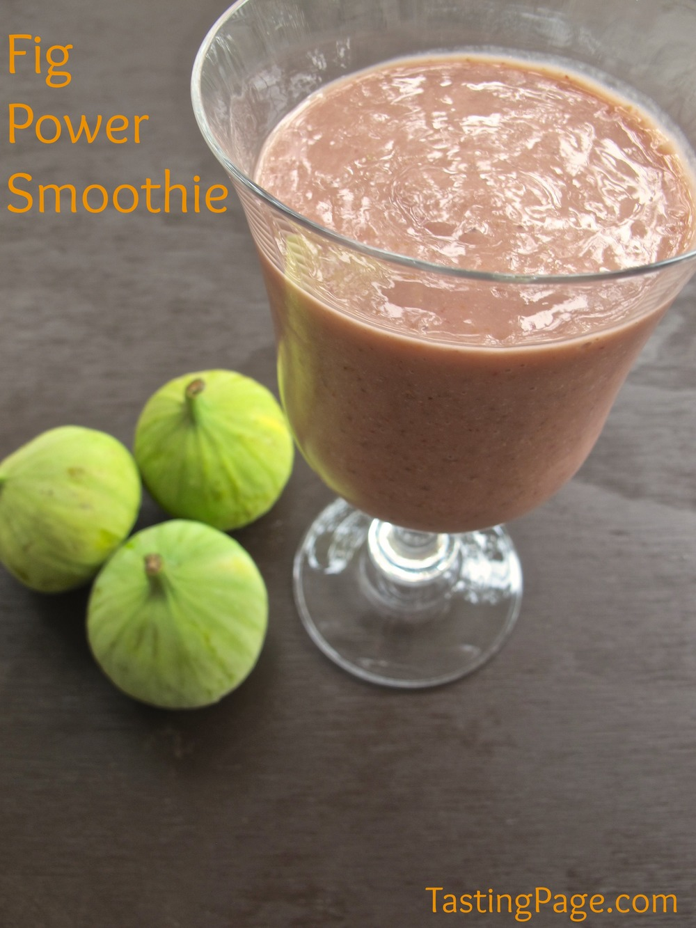 fig power smoothie