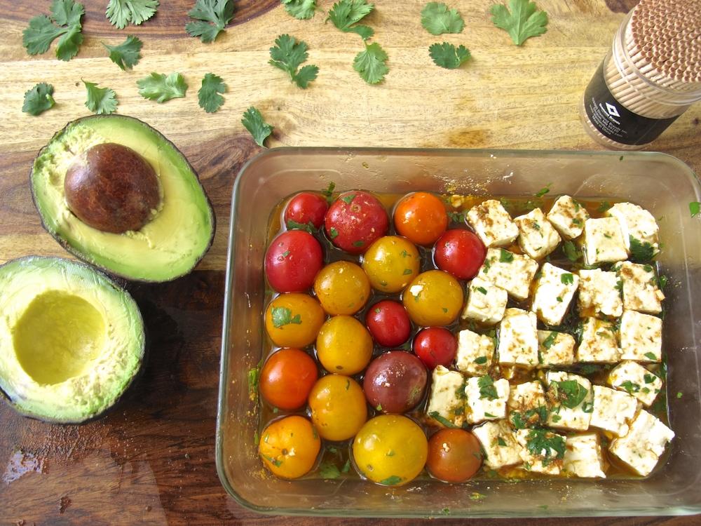 guacamole deconstructed