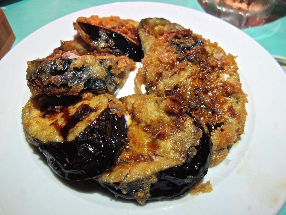 3 Square Cafe Le Sal eggplant
